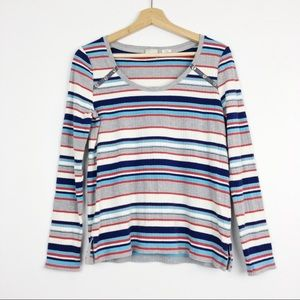 Anthropologie Postmark stripped Joliette top M